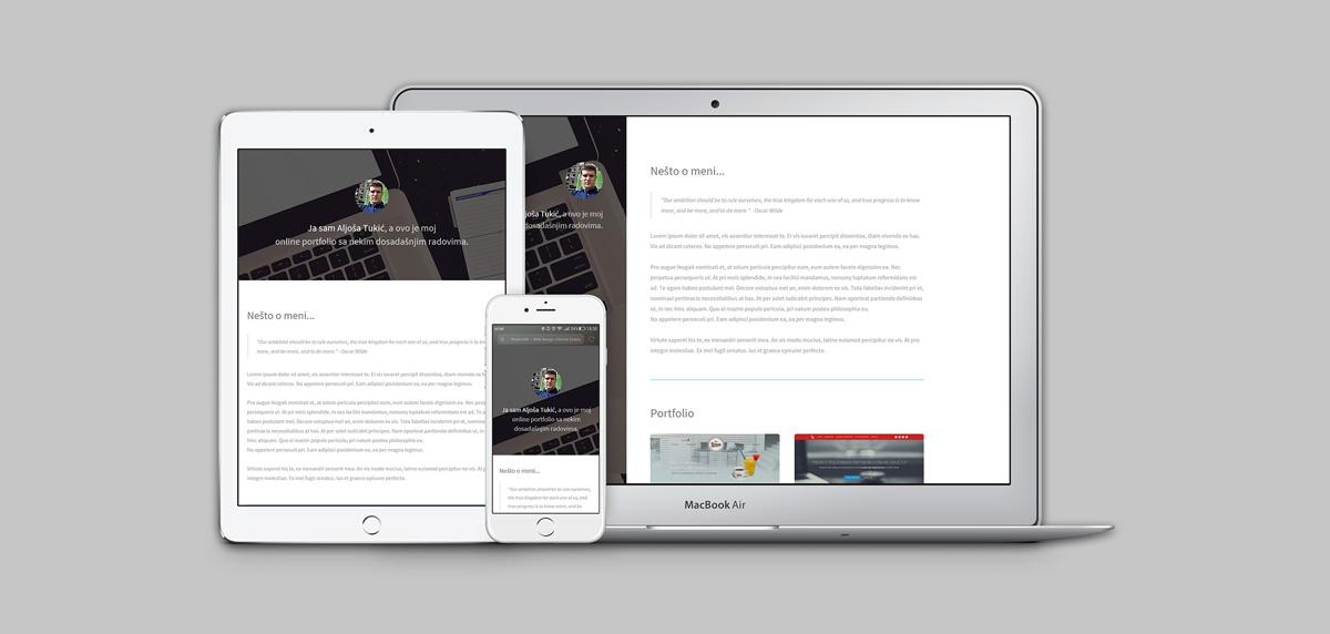 Web Dizajn | Online Portfolio