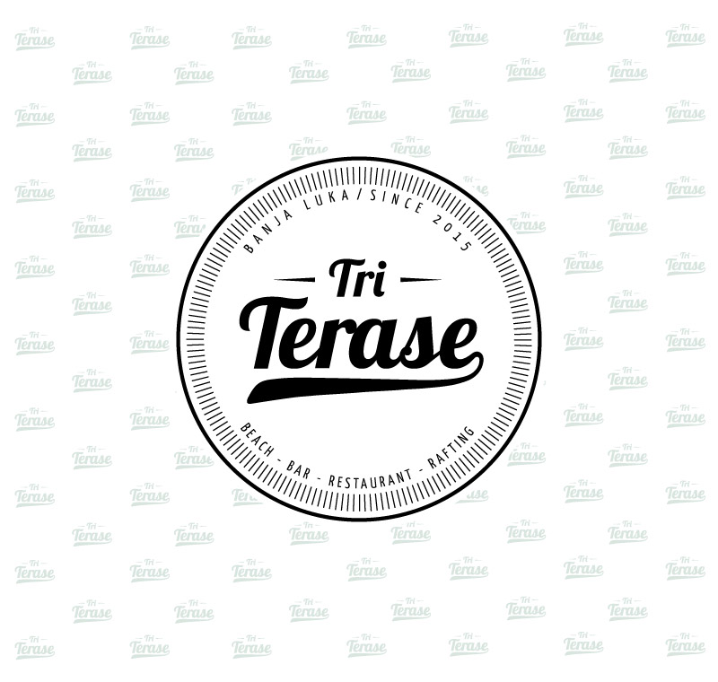 "Logotip | Beach – Bar – Restaurant ""Tri Terase"""