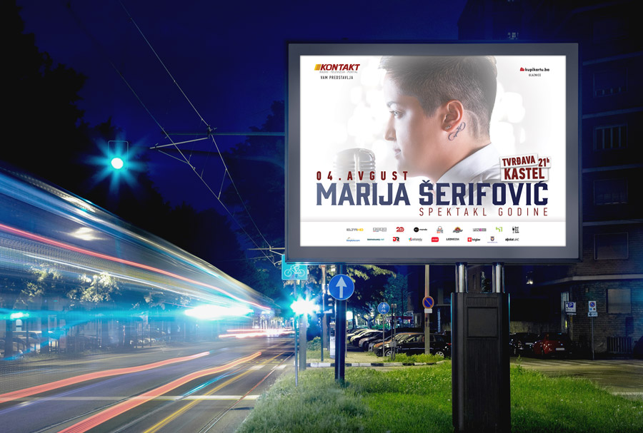Promo materijali | Koncert Marije Šerifović