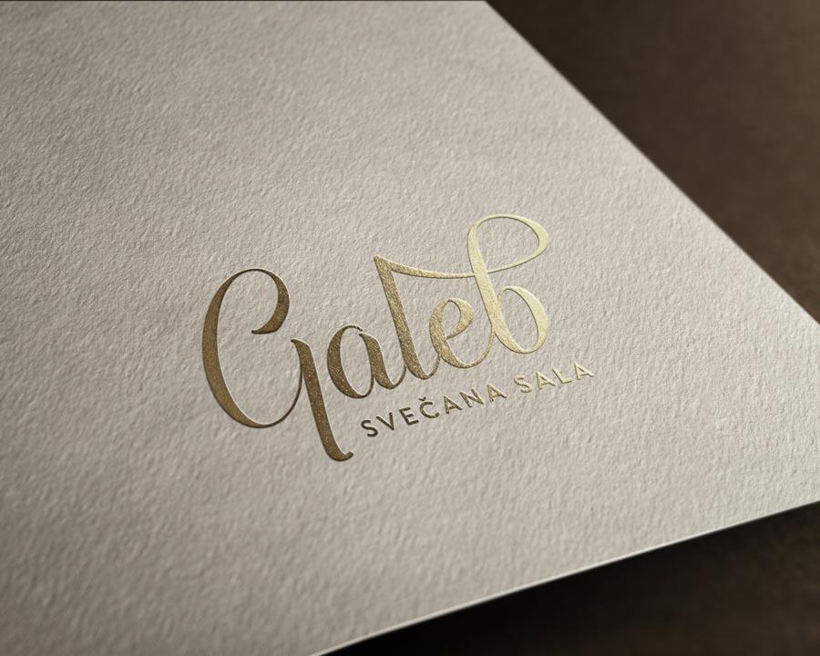 Logotip | Galeb – svečana sala