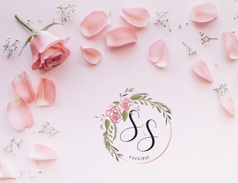 Logotip | S&S – logotip za vjenčanje
