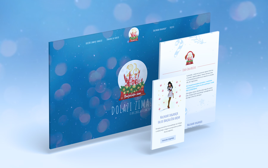 "Web Dizajn | ""Banjalučka Zima"""