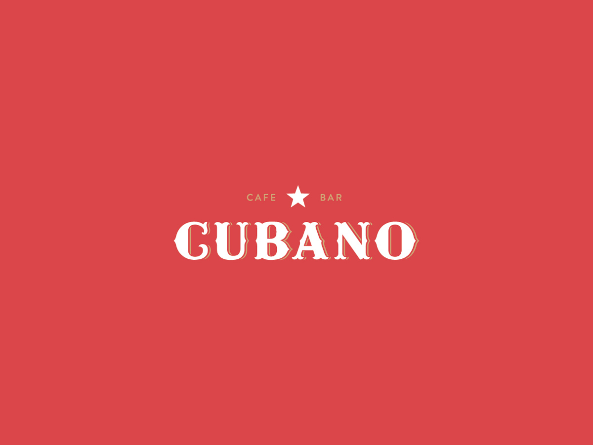 Logotip | Cubano – cafe bar