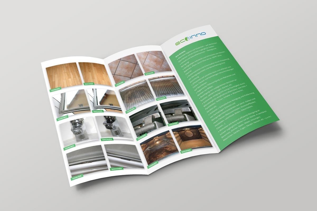 Promo materijal | Ecoinno – Letak trifold + Priručnik