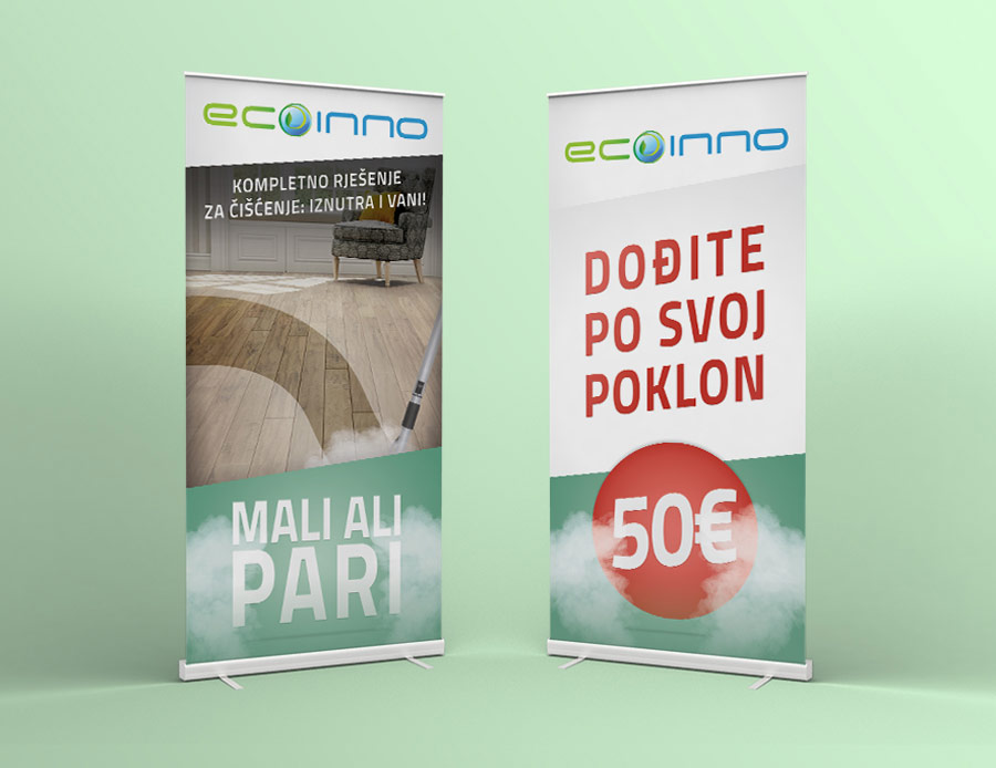 Promo materijal | Ecoinno – Roll Up